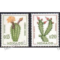 Monako 1960 Mi 649-50 ** Kaktusy Kwiaty  Flora
