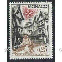 Monako 1961 Mi 668 ** Architektura Sport