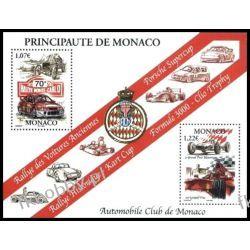 Monako 2002 Mi BL 83 ** Auto Samochód Motoryzacja