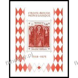 Monako 1973 Mi BL 5 ** Czerwony Krzyż Święta Agata  Kolejnictwo