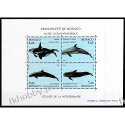 Monako 1994 Mi BL 62 ** Wieloryby Zwierzęta  Pozostałe
