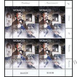 Monako 1998 ark 2406 ** Charles Garni Pozostałe