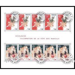 Monako 1981 Mi BL 17 # Europa Cept Folklor  Sport