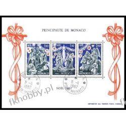 Monako 1982 Mi BL 21 # Boże Narodzenie Religia  Pozostałe