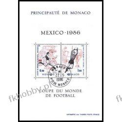 Monako 1986 Mi BL 33 # Piłka Nożna Sport  Ssaki