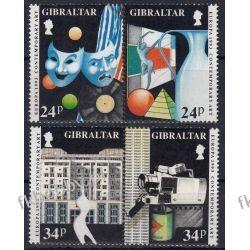 Gibraltar 1993 Mi 654-57 ** Cept Teatr Muzyka Pozostałe