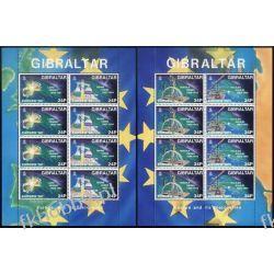 Gibraltar 1994 Mi ark 683-86 ** Europa Cept Nagroda Nobla Curie Marynistyka