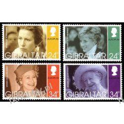 Gibraltar 1996 Mi 755-58 ** Cept Księżna Diana Pozostałe