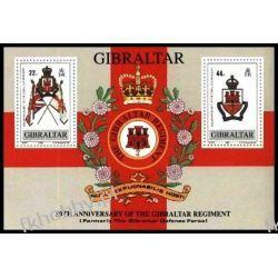 Gibraltar 1989 Mi BL 12 ** Heraldyka Herby  Sport