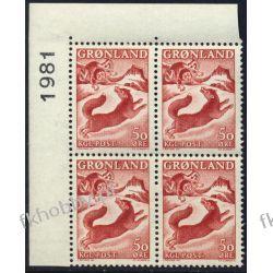 Grenlandia 1966 Mi 66 x4 ** Czesław Słania Pies b Pozostałe