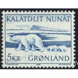Grenlandia 1976 Mi 96 ** Czesław Słania Niedżwiedż Pozostałe