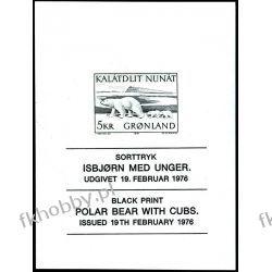 Grenlandia 1976 Mi 96 ND ** Czesław Słania Niedżwiedż Pozostałe