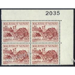 Grenlandia 1970 Mi 76 x4 ** Czesław Słania  Flora