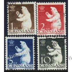 Grenlandia 1963 Mi 58-61 # Słania Niedżwiedż  Pozostałe