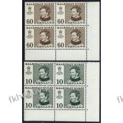 Grenlandia 1973 Mi 84-85 x4 ** Czesław Słania Pozostałe