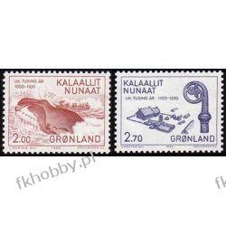 Grenlandia 1982 Mi 138-39 ** Wieloryb Folklor Sport