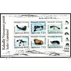 Grenlandia 1991 Mi BL 3 ** Foka Mors  Pozostałe