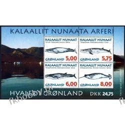 Grenlandia 1997 BL 13 ** Wieloryby Walenie  Marynistyka