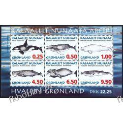 Grenlandia 1996 BL 10 ** Wieloryby Walenie Ptaki