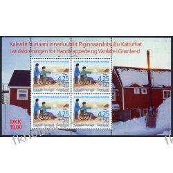 Grenlandia 1996 Mi BL11 ** Niepełnosprawni  Marynistyka
