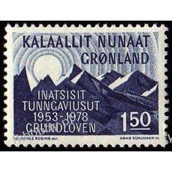 Grenlandia 1978 Mi 109 ** Góry Owady