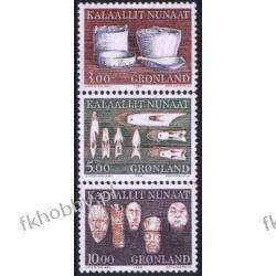 Grenlandia 1988 Mi 186-88 ** Folklor Sport