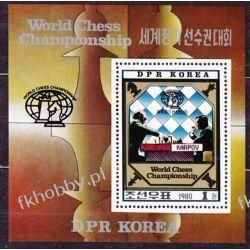 Korea Płn 1980 Mi BL 89 ** Szachy Sport  Pozostałe