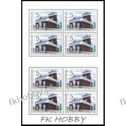 Czechy 1993 Mi ark 6 ** Herz Kościół  Polonica