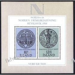 Islandia 1983 BL 5 ** Wystawa Filatelistyczna Pozostałe