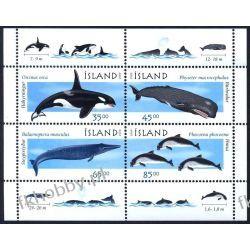 Islandia 1999 BL 23 ** Delfiny Wieloryby  Pozostałe