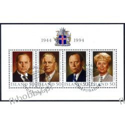 Islandia 1994 BL 16 # Prezydenci Ssaki
