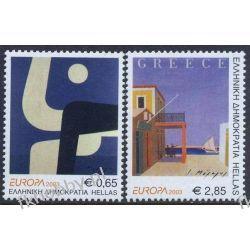 Grecja 2003 Mi 2150-51 A ** Europa Cept Plakat  Pozostałe