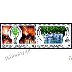Grecja 1986 Mi 1630-31 Azd ** Europa Cept Ptaki  Pozostałe
