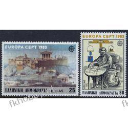 Grecja 1983 Mi 1513-14 ** Europa Cept Ateny