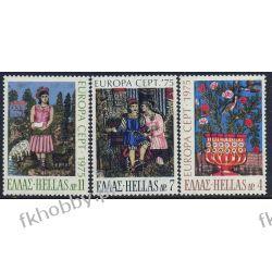 Grecja 1975 Mi 1198-00 ** Europa Cept Folklor Flora