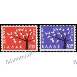 Grecja 1962 Mi 796-97** Europa Cept Drzewo Pozostałe