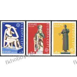 Grecja 1974 Mi 1166-68 ** Europa Cept Folklor Pozostałe