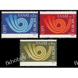 Grecja 1973 Mi 1147-49 ** Europa Cept Druk wklęsły