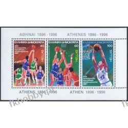 Grecja 1987 Mi BL 6 ** Sport Koszykówka  Pozostałe