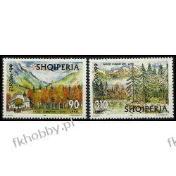 Albania 1999 Mi 2690-91 ** Europa Cept Góry Las Polonica