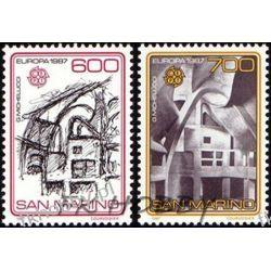 San Marino 1987 Mi 1354-55 ** Europa Cept Pozostałe