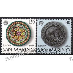San Marino 1976 Mi 1119-20 ** Europa Cept Folklor Malarstwo