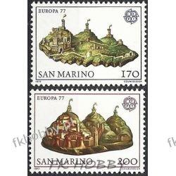 San Marino 1977 Mi 1131-32 ** Europa Cept  Marynistyka