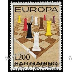San Marino 1965 Mi 842 ** Europa Cept Szachy Polonica