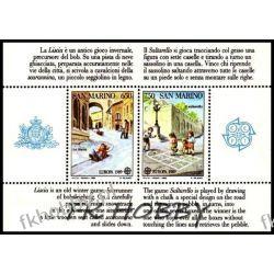 San Marino 1989 Mi BL 12 ** Europa Cept Dzieci Ssaki