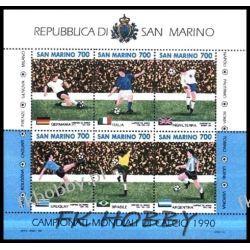 San Marino 1990 Mi BL 13 ** Piłka Nożna Sport Sport