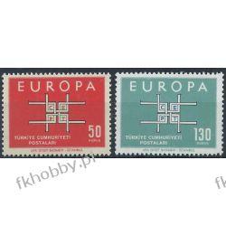 Turcja 1963 Mi 1888-89 ** Europa Cept  Pozostałe