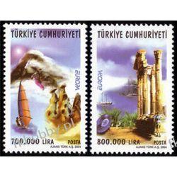 Turcja 2004 Mi 3376-77 ** Europa Cept Ferie  Pozostałe