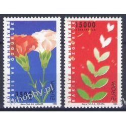 Turcja 1995 Mi 3047-48 ** Europa Cept Kwiaty  Pozostałe
