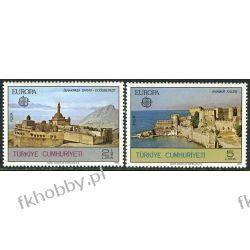 Turcja 1978 Mi 2443-44 ** Europa Cept Zamek  Druk wklęsły